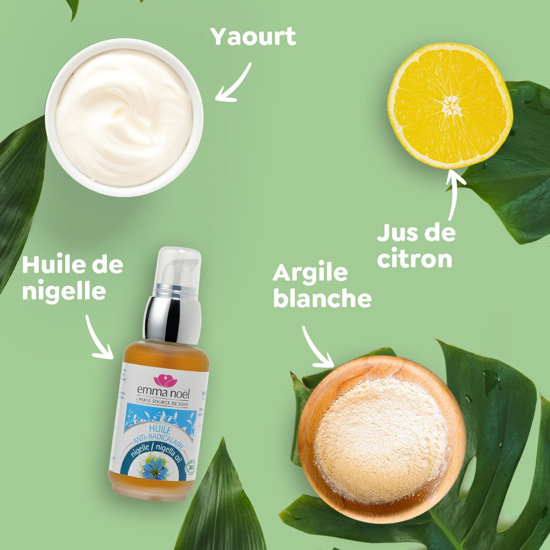 DIY Emma Noël Masque purifiant