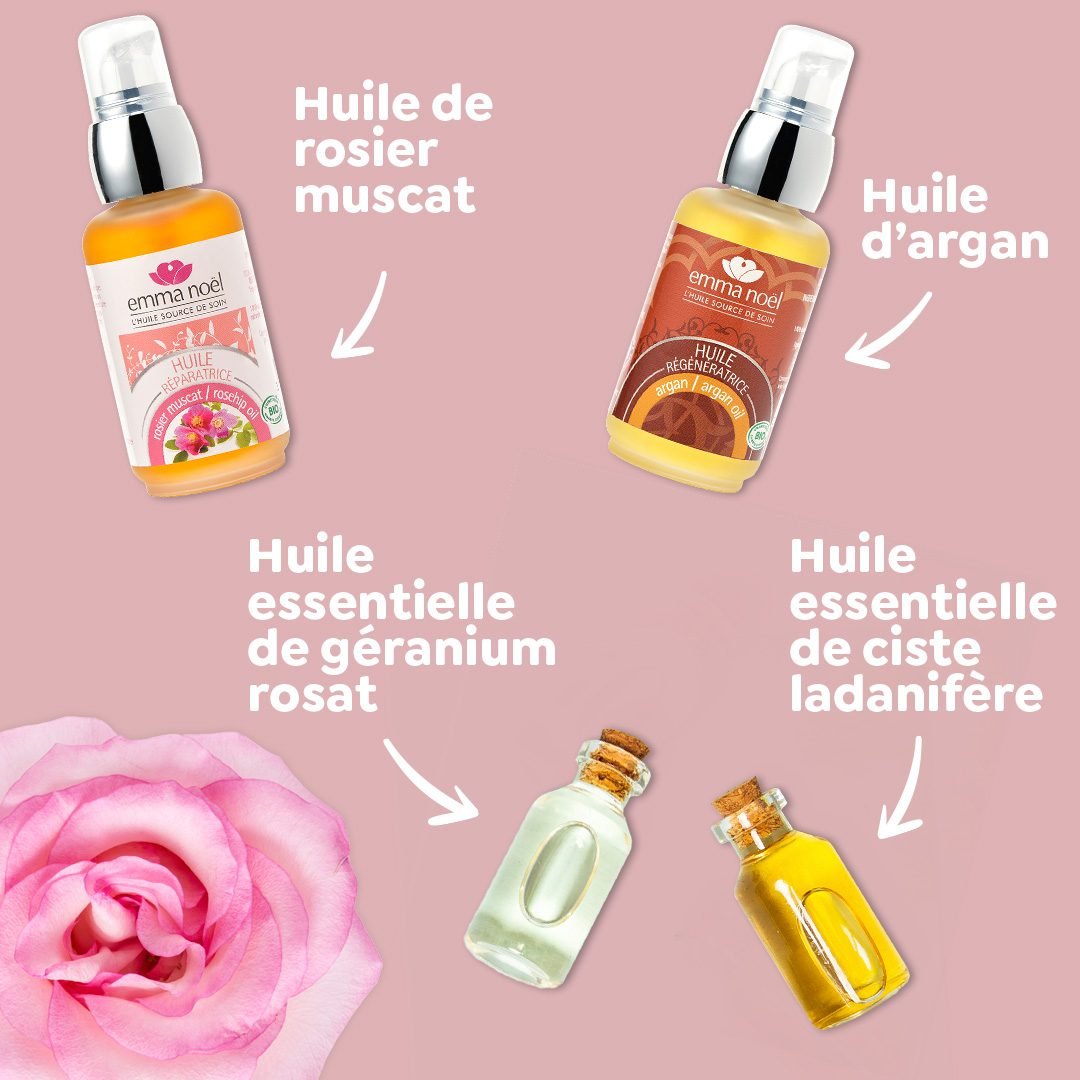 DIY Emma Noël Sérum liftant contre les rides